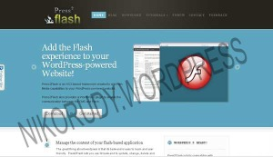 Press2Flash CMS