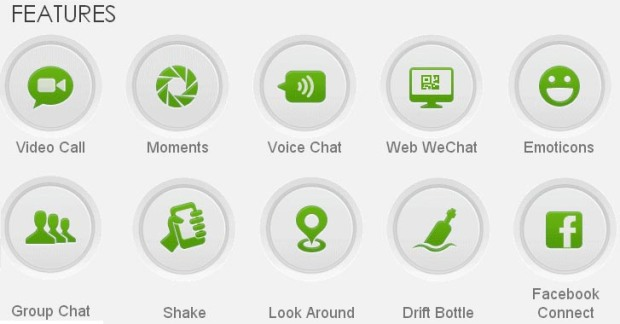 Fitur WeChat