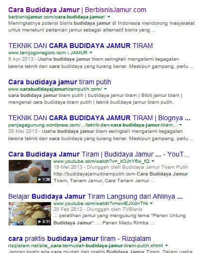Cara Budidaya Jamur google